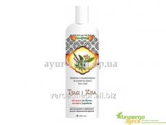 Shampoo - the conditioner of Tulsi and Henna