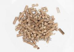 Wood pellets from pine