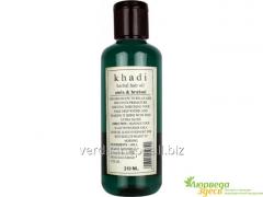 Aml and Brakhmi's oil for a hair