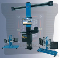 3D wheel alignment stand HPA