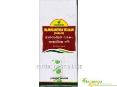 Sedative preparation MaanasaMithra Vatakam, Manasa