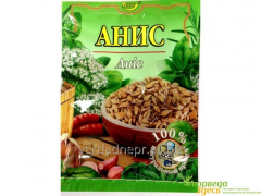 Grain 10 anise grm., anise