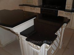 Kitchen table-top from Technistone Stralight_Black