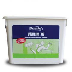 Бостик 76 Швеція клей для склополотна й флизелина
