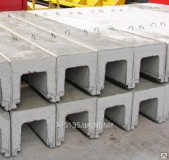 Tray drainage reinforced concrete L 8-5