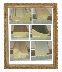 Baguette frame wooden