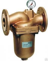 Фланцевый фильтр тонкой очистки с обратной