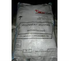 Formiat of sodium, sodium muravyinokisly