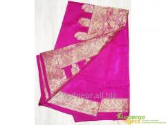 Calmness sari fuchsia