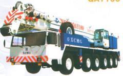 Автокраны повышенной проходимости QAY160