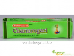 Ointment at eczema and dermatitis of Charmrogari,