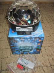 Magic LED Sphere – excellent idea for discos and
