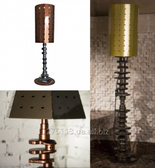 Design lamps of handwork from automobile spare