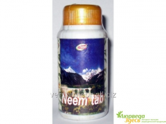 Preparation for clarification of blood Neem,