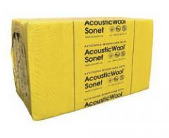 Acoustic mineral wool, AcousticWool Sonet,