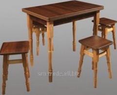 Set table + 4 stools