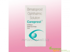 Preparation for Careprost eyes
