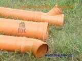 Труба ПВХ для наружной канализации с раструбом SDR
