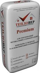 Теплая штукатурка Тепловер Premium+(гидрофобная)