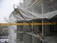 Сетка защитно-улавливающая для строек