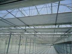 Экраны для зашторивания  энергосберегающие и притеняющие для промышленных теплиц