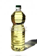 The sunflower oil deodorized