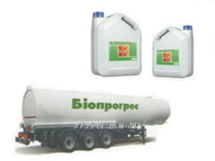 Liquid fertilizer for sunflower, Progres