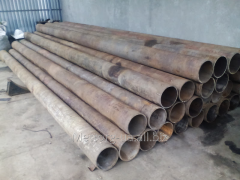 Pipe stainless steel of 245 mm wall of 12 mm