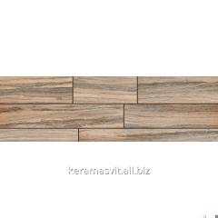 He tile of InterCerama BOSCO dark is brown 15x50