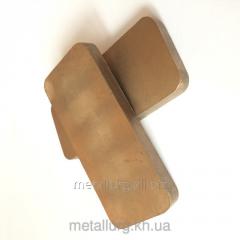 Щетки металлографитовые МГСО 90х40х8