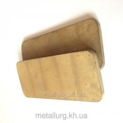 Щетки металлографитовые МГСО 90х40х5