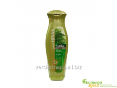 A dry and hard hair shampoo with Henna, Dabur