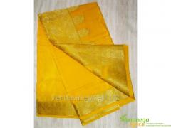 Calmness sari yellow