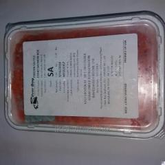 Caviar red humpback salmon