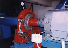 The turbine for systems of drinking water supply