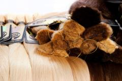 Natural hair in cuts