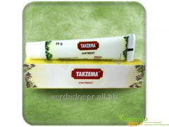 Cream for treatment of eczema of Takzema ointment,