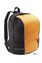 Backpack from polyester 600d - light-reflective
