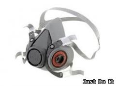 Half mask 3М™ 6100 (set: filter, holders,