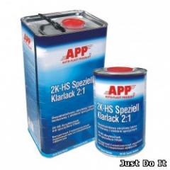Varnish acrylic two-component APP 2K HS Spezial