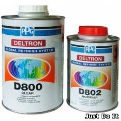 ACRYLIC VARNISH of D800+D802 DELTRON (set)