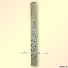 Ruler measured 2*1/3*1
