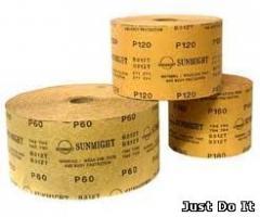 Emery paper in rolls 115mm/50m P 100-P400 (a roll