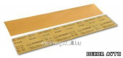 Strip abrasive Gold, 70*240mm, P60,VELCRO (packing