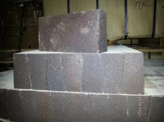 Brick fire-resistant periklazovy PHSU No. 46.