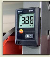 Registrar of temperature TESTO 174