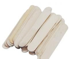 Wooden sticks for ice cream