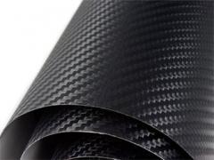 Carbon fabrics film