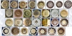 Изделия деревянные резные, резные тарелки