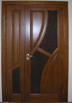 Doors from fiber boards